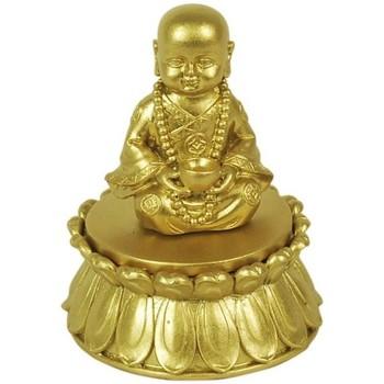 Casa Estatuetas Signes Grimalt Buda Com Caixa De Ouro Dorado