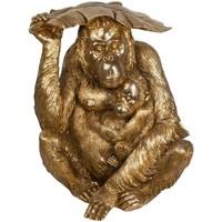 Casa Estatuetas Signes Grimalt Orangotango Dorado Dorado