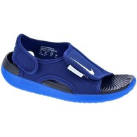 Sapatos Rapaz Chinelos Nike Sunray Adjust Azul