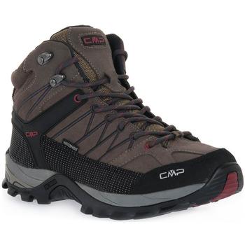 Sapatos Mulher Sapatilhas de corrida Cmp 02PD RIGEL MID TREKKING Grigio