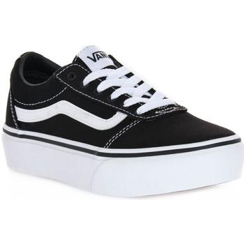 Sapatos Rapariga Sapatilhas Vans 187 WARD PLATFORM Nero