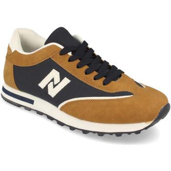 Sapatos Homem Sapatilhas Kalasity EV902 Taupe