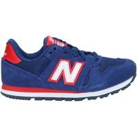 Sapatos Criança Multi-desportos New Balance YC373SNW Azul