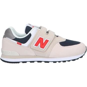 Sapatos Criança Multi-desportos New Balance PV574SJ2 Beige