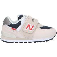 Sapatos Criança Multi-desportos New Balance IV574SJ2 Beige