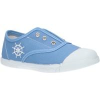 Sapatos Rapaz Sapatilhas de ténis Cotton Club CC0001 Azul