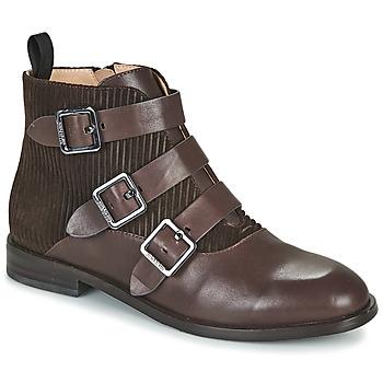 Sapatos Mulher Botins JB Martin XALON Branco / amarelo / cinza