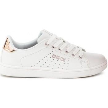 Sapatos Mulher Sapatilhas Big Star DD274583 Branco