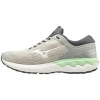 Sapatos Mulher Sapatilhas Mizuno Wave Skyrise Branco, Cinzento, Verde claro