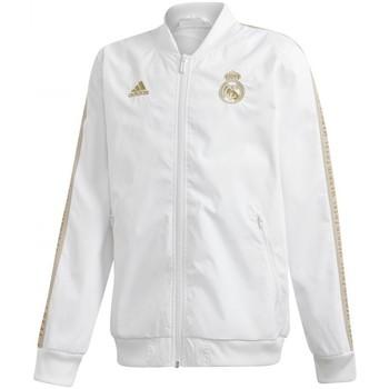 Textil Rapaz Casacos fato de treino adidas Originals  Branco