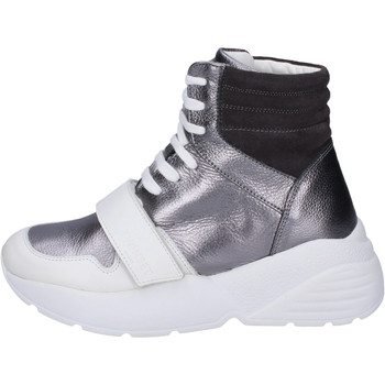 Sapatos Mulher Sapatilhas de cano-alto Twin Set Sneakers BJ482 Cinza
