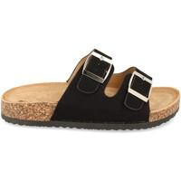Sapatos Mulher Chinelos Buonarotti 1AY-1056 Negro