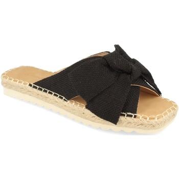 Sapatos Mulher Chinelos Buonarotti 1FB-1124 Negro