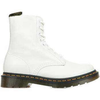Sapatos Mulher Botas baixas Dr Martens 1460 Pascal Branco