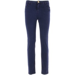 Textil Mulher Gangas Skinny Twin Set 2252 jeans mulher Azul