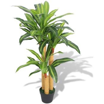 Casa Plantas e Flores Artificiais  VidaXL Planta artificial Verde