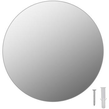 Casa Espelhos VidaXL Espelho de parede Φ 30 cm Prateado