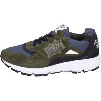 Sapatos Homem Sapatilhas Atlantic Stars BJ492 verde