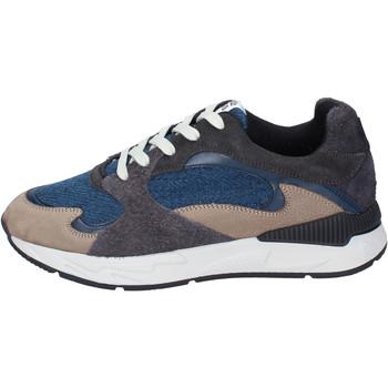 Sapatos Homem Sapatilhas Atlantic Stars BJ493 Cinza
