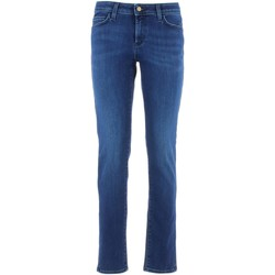 Textil Mulher Gangas Skinny Roy Rogers PUSH UP jeans mulher Azul