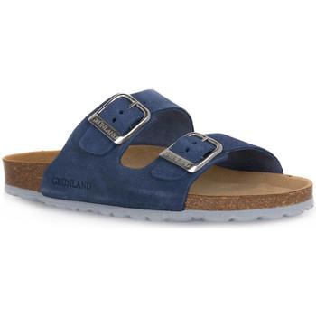 Sapatos Mulher Chinelos Grunland JEANS 70SARA Blu