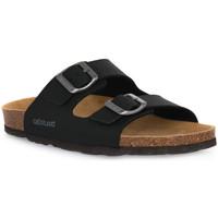Sapatos Mulher Chinelos Grunland NERO 40SARA Nero
