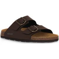 Sapatos Homem Chinelos Grunland MOGANO 40BOBO Marrone