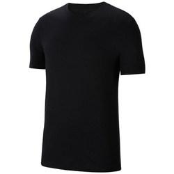 Textil Homem T-Shirt mangas curtas Nike Park 20 M Tee Preto