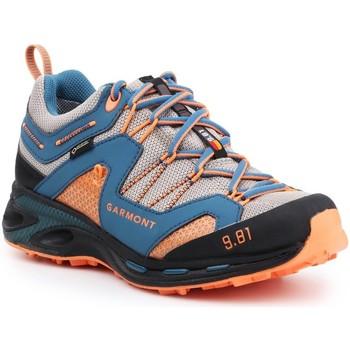 Sapatos Homem Sapatos de caminhada Garmont 9.81 Trail Pro III GTX 481221-211 blue, orange, grey