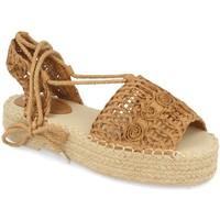 Sapatos Mulher Alpargatas Milaya 3S3 Camel