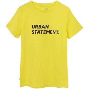 Textil Rapaz T-Shirt mangas curtas Mayoral  amarillo