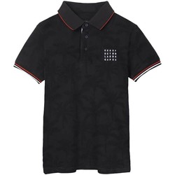 Textil Rapaz Polos mangas curta Mayoral  Negro