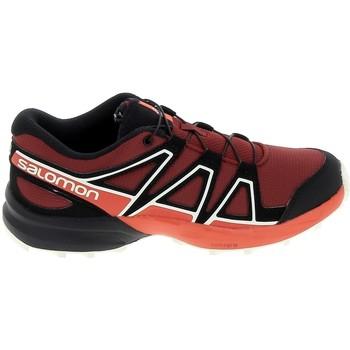 Sapatos Criança Sapatilhas Salomon Speedcross K Rouge Noir Vermelho