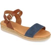 Sapatos Mulher Sandálias Visanze 20046 Azul