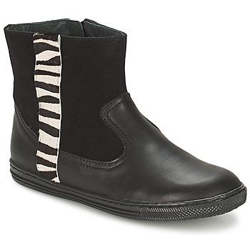 Sapatos Rapariga Botas baixas Citrouille et Compagnie ELLIA Preto