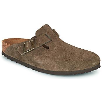 Sapatos Tamancos Birkenstock BOSTON Castanho