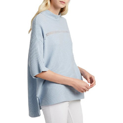 Textil Mulher camisolas French Connection  Azul