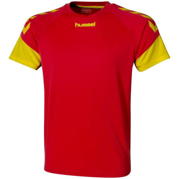 Textil Homem T-Shirt mangas curtas Hummel  Amarelo