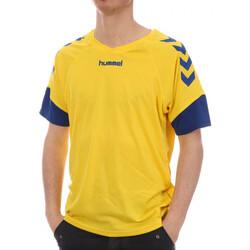 Textil Mulher T-Shirt mangas curtas Hummel  Azul