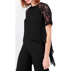 Textil Mulher Tops / Blusas French Connection  Preto