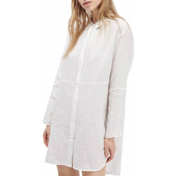 Textil Mulher camisas French Connection  Branco