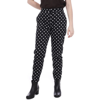 Textil Mulher Chinos French Connection  Preto