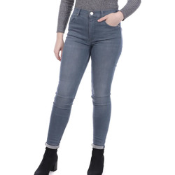 Textil Mulher Gangas Skinny French Connection  Cinza