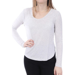 Textil Mulher T-shirt mangas compridas French Connection  Cinza