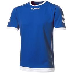 Textil Homem T-Shirt mangas curtas Hummel  Azul