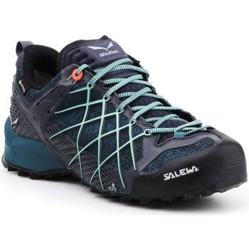 Sapatos Mulher Sapatos de caminhada Salewa Buty trekkingowe  Wildfire GTX 63488-3838 granatowy, blue, black