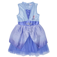 Textil Rapariga Vestidos curtos TEAM HEROES  FROZEN DRESS Azul