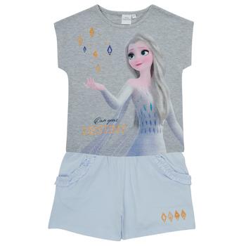 Textil Rapariga Conjunto TEAM HEROES  FROZEN SET Multicolor