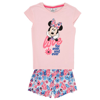 Textil Rapariga Conjunto TEAM HEROES  MINNIE SET Rosa
