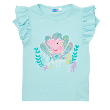 Textil Rapariga T-Shirt mangas curtas TEAM HEROES  PEPPA PIG TEE Azul